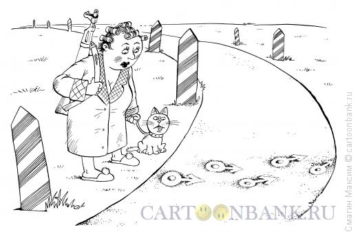 Карикатура Семейно-следовая полоса, Смагин Максим