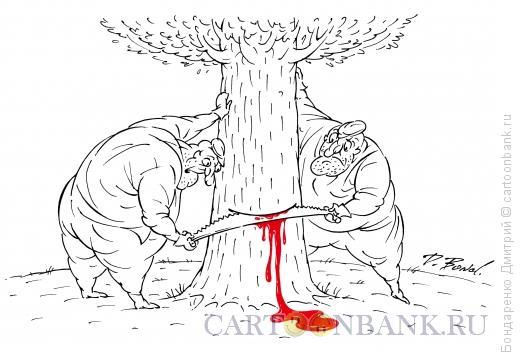 Карикатура: Убийцы, Бондаренко Дмитрий