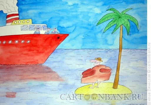 Карикатура: Вуайерист, Шилов Вячеслав