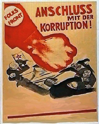 Карикатура: Anschluss - Присоединяйся!, partekin