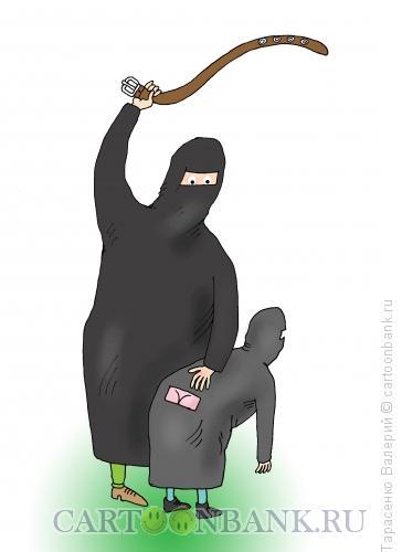 Карикатура: Показательное наказание, Тарасенко Валерий