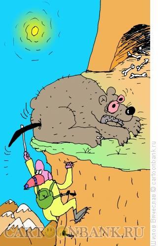 Карикатура: Подъем, Шилов Вячеслав