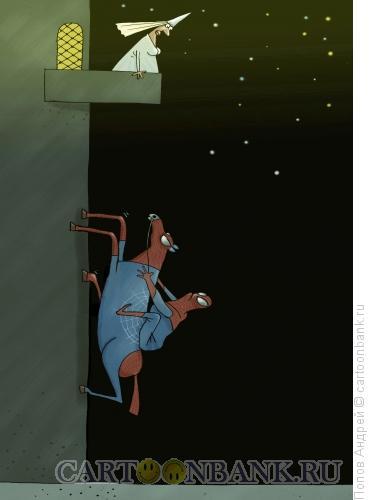 Карикатура: Человек-паук, Попов Андрей