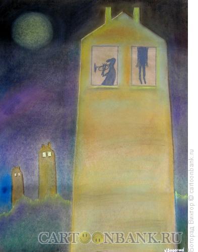 Карикатура: Соседи, Богорад Виктор