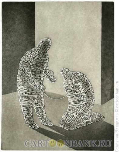 Карикатура: Бинтовщики, Степанов Владимир