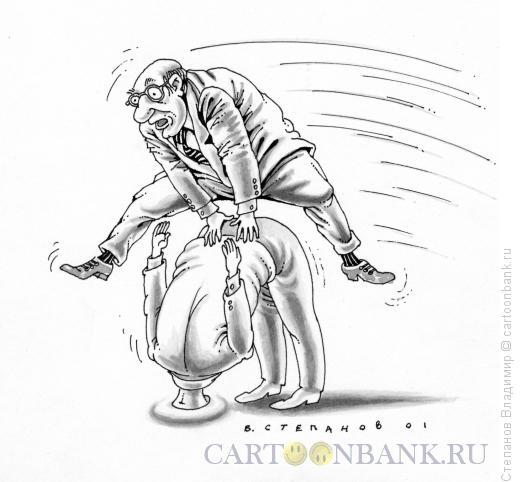 Карикатура: Чехарда, Степанов Владимир