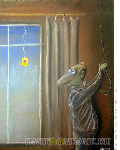Карикатура: Реклама чая, Богорад Виктор