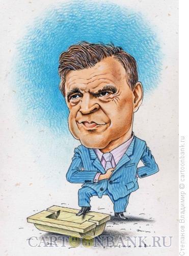 Карикатура Руслан Хасбулатов, Степанов Владимир