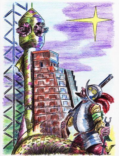 Карикатура: El Dorado, Владимир Уваров