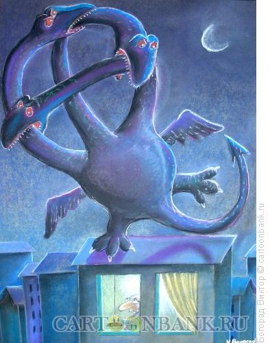 Карикатура: Три ветви власти, Богорад Виктор