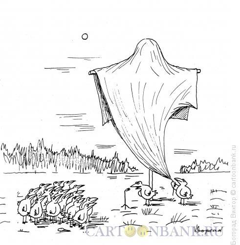 Карикатура: Открытие памятника, Богорад Виктор