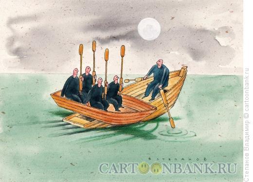 Карикатура: Системный кризис, Степанов Владимир