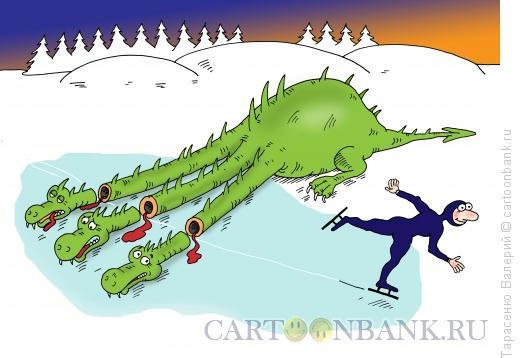 Карикатура: Головорез, Тарасенко Валерий