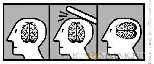 Карикатура: бить по голове, Копельницкий Игорь