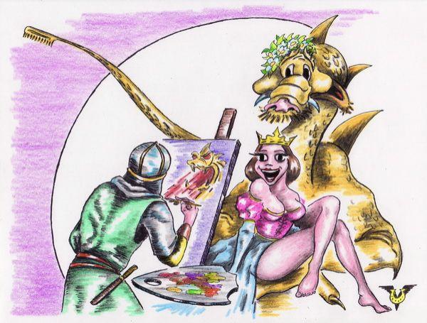 Карикатура: Имидж, Владимир Уваров