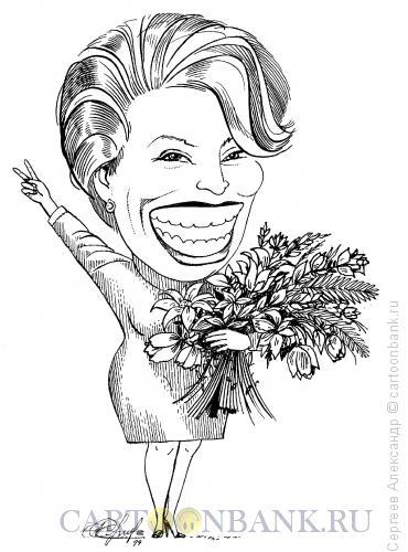 Карикатура: Матвиенко Валентина, настоящий губернатор СПб, Сергеев Александр