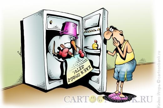 Карикатура: Как провел лето, Кийко Игорь