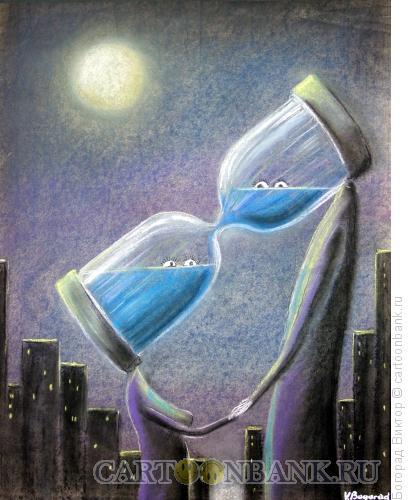 Карикатура: Поцелуй, Богорад Виктор