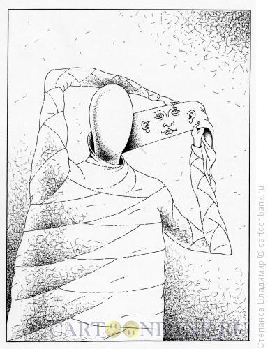 Карикатура: Косметическая операция, Степанов Владимир
