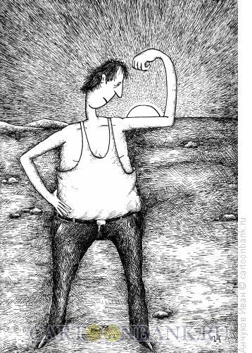 Карикатура: сила, Анчуков Иван