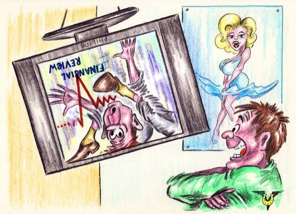 Карикатура: Финансовое обозрение, Владимир Уваров