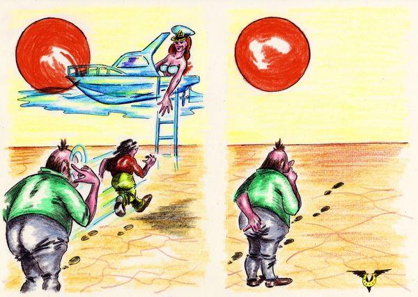 Карикатура: Мираж, Владимир Уваров