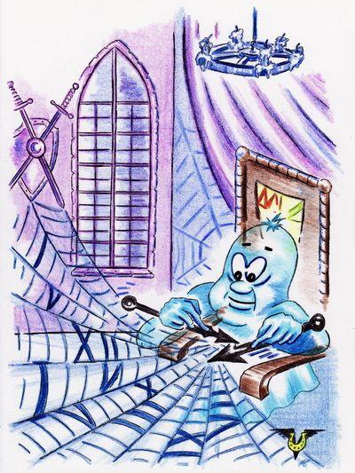 Карикатура: Паутина, Владимир Уваров