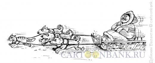 Карикатура: Вечный двигатель, Дубинин Валентин
