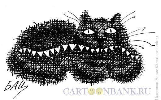 Карикатура: Котик, Цыганков Борис