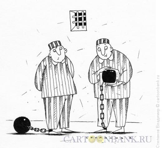 Карикатура: Зависимость, Степанов Владимир