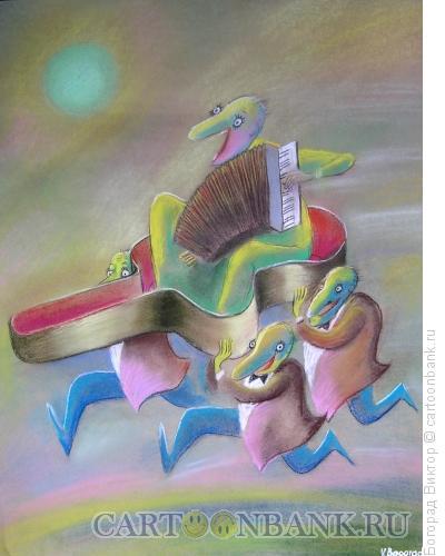 Карикатура: Процессия, Богорад Виктор