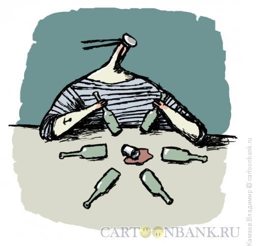 Карикатура: Матрос, Камаев Владимир