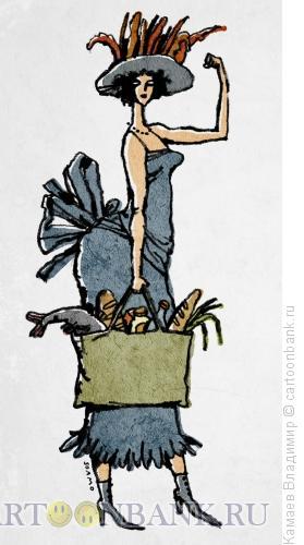 Карикатура: Красота - это страшная сила, Камаев Владимир
