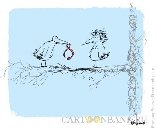 Карикатура: C 8 марта, Богорад Виктор