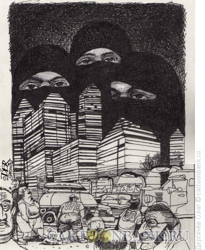 Карикатура: Мираж, Дергачёв Олег