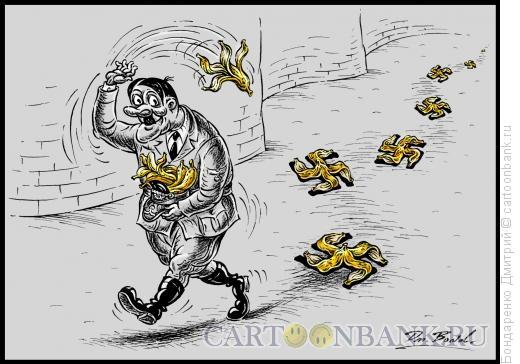 Карикатура: Крупный пакостник, Бондаренко Дмитрий