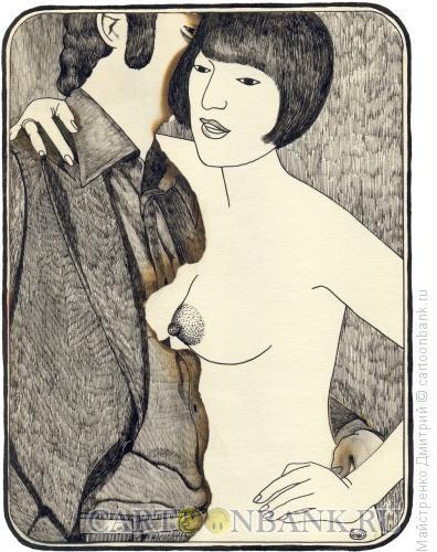Карикатура: Адам и Ева 5, Майстренко Дмитрий