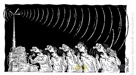Карикатура: Круговорот новостей в природе, Бондаренко Дмитрий