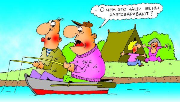 Карикатура: Размер, Александр Хорошевский