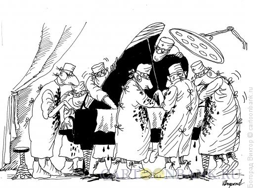 Карикатура: Операция рояля, Богорад Виктор