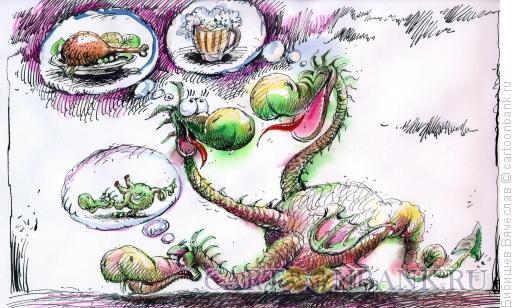 Карикатура: Дружба дружбой, Бибишев Вячеслав
