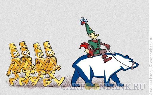 Карикатура: Урфин Джюс, Алёшин Игорь