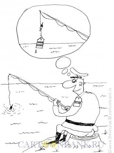 Карикатура: Сержант-рыбак, Шилов Вячеслав