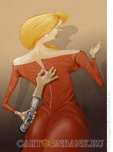 Карикатура: Аппарат, Попов Андрей