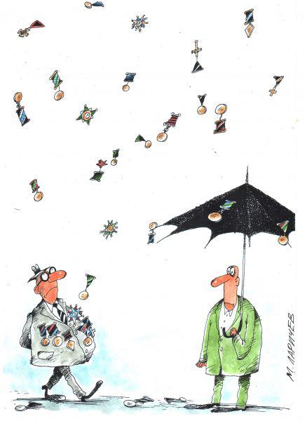Карикатура: без названия, Михаил Ларичев