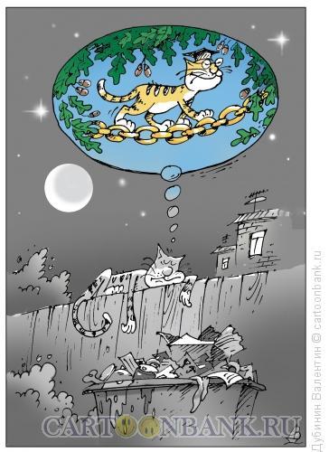 Карикатура: Сказочный сон, Дубинин Валентин