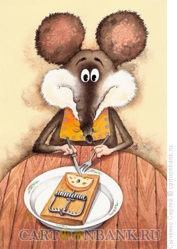 Карикатура: Завтрак, Сыченко Сергей