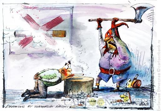 Карикатура: Борьба с курением, Бибишев Вячеслав