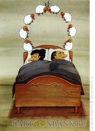 Карикатура: Бараны, Сыченко Сергей