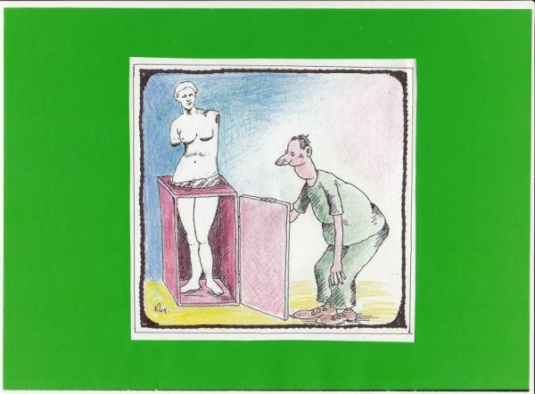 Карикатура: искусство и жизнь., kolj